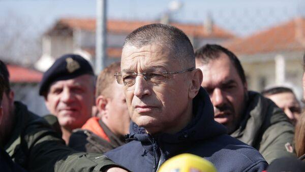 Ο υφυπουργός Άμυνας, Αλκιβιάδης Στεφανής - Sputnik Ελλάδα