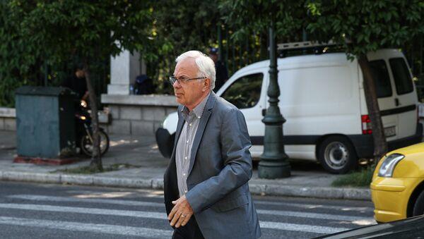 Ο υπουργός Αγροτικής Ανάπτυξης Βαγγέλης Αποστόλου - Sputnik Ελλάδα