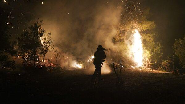 Πυρκαγιά στην Εύβοια 12 Αυγούστου 2018 - Sputnik Ελλάδα