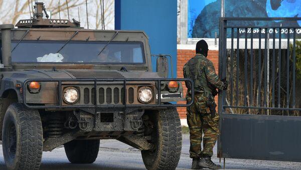 Ενίσχυση των μέτρων ασφαλείας στα σύνορα Ελλάδας - Τουρκίας, Μάρτιος 2020 - Sputnik Ελλάδα