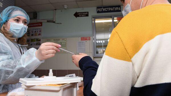 Κορονοϊός: Έλεγχος καραντίνας σε κλινική στη Ρωσία - Sputnik Ελλάδα