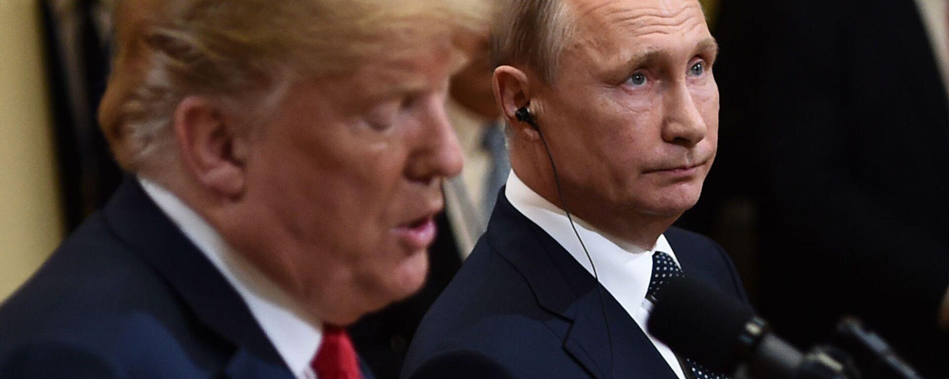 Πούτιν και Τραμπ - Sputnik Ελλάδα, 1920, 28.09.2021