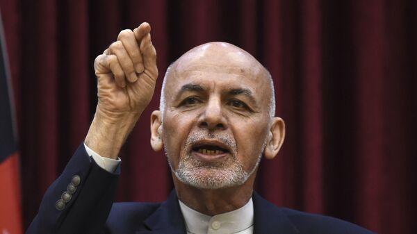 Ο Πρόεδρος του Αφγανιστάν,Ασράφ Γκάνι - Sputnik Ελλάδα