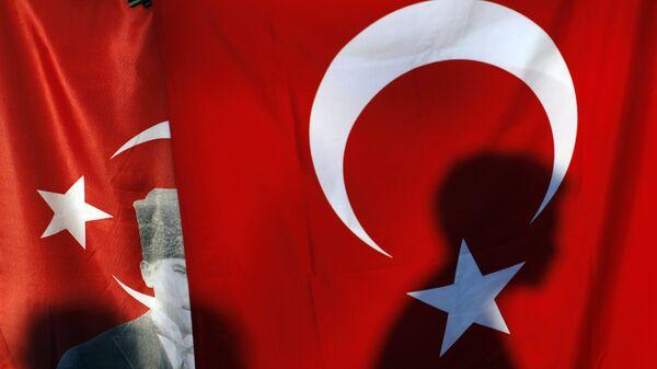 Τουρκική σημαία - Sputnik Ελλάδα