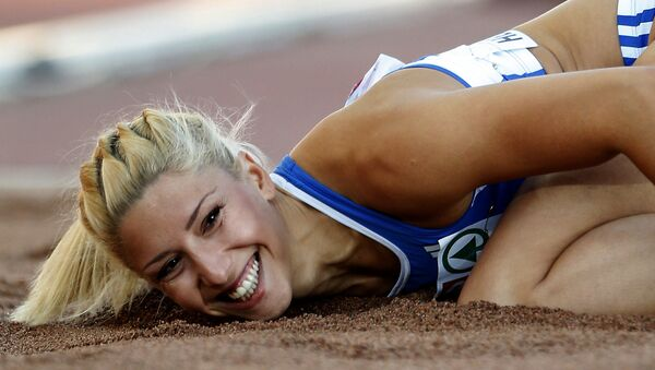 Η πρωταθλήτρια Βούλα Παπαχρήστου - Sputnik Ελλάδα