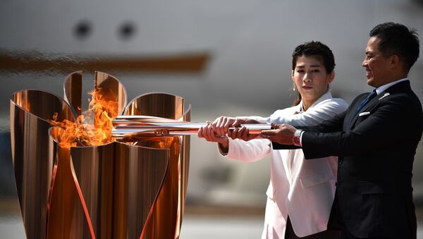 Άφιξη της Ολυμπιακής Φλόγας στην Ιαπωνία, 20 Μαρτίου 2020 - Sputnik Ελλάδα