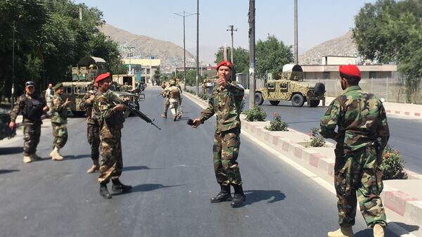 Στρατιώτες των δυνάμεων ασφαλείας του Αφγανιστάν - Sputnik Ελλάδα
