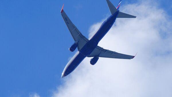 Αεροσκάφος Boeing 737 που ανήκει στη ρωσική εταιρία Aeroflot - Sputnik Ελλάδα