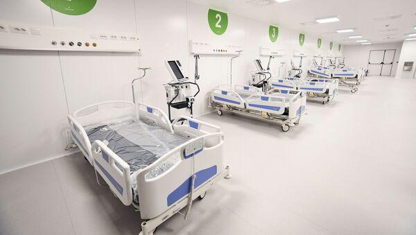 Ειδικό νοσοκομείο για τον κορονοϊό στην Ιταλία - Sputnik Ελλάδα