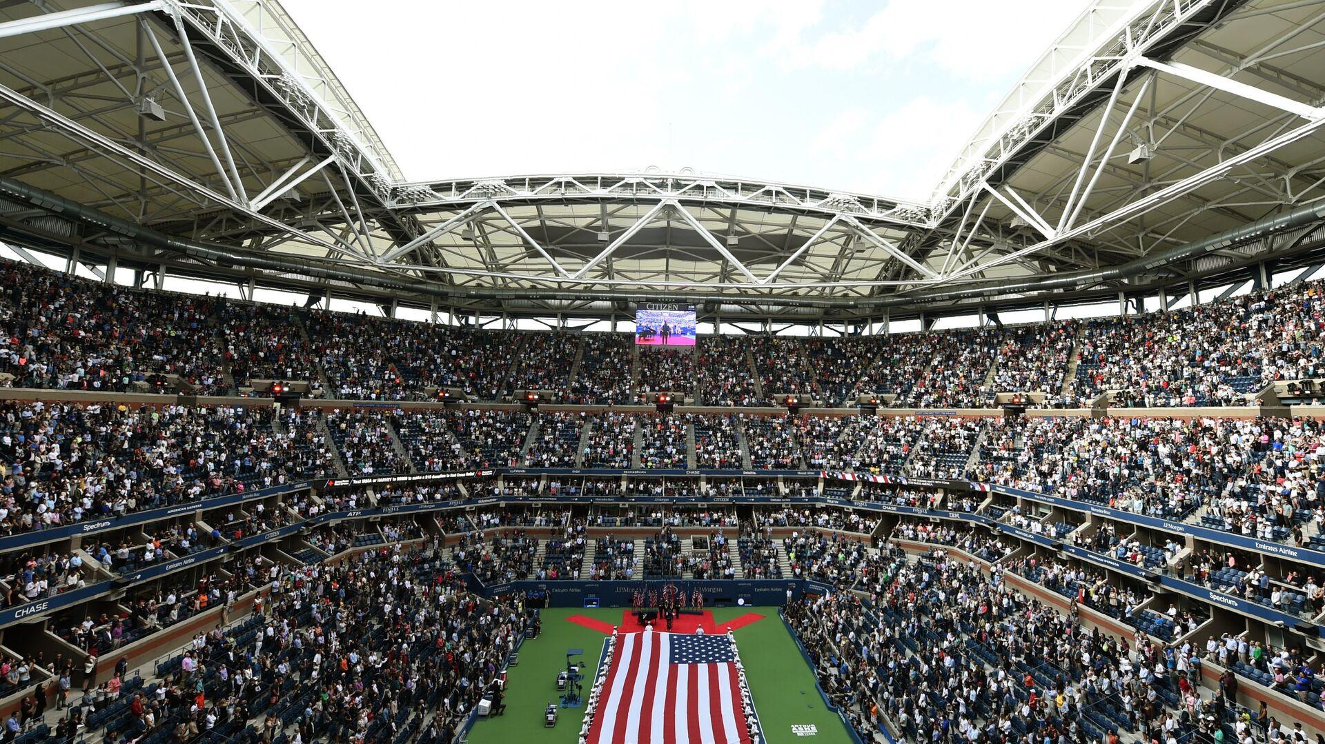 Το κεντρικό κορτ του US Open στη Νέα Υόρκη - Sputnik Ελλάδα, 1920, 07.09.2021