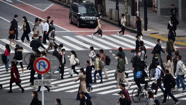Πολίτες στην Ιαπωνία εν μέσω κορονοϊού (COVID-19) - Sputnik Ελλάδα