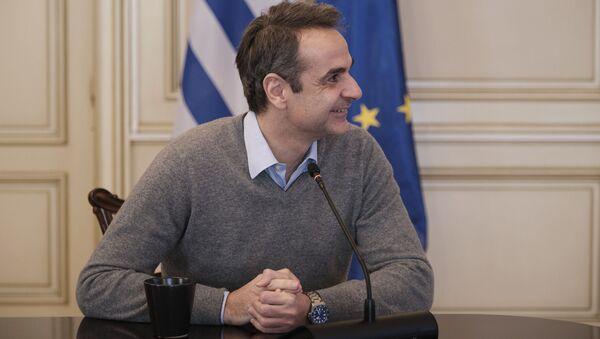 Ο Κυριάκος Μητσοτάκης - Sputnik Ελλάδα