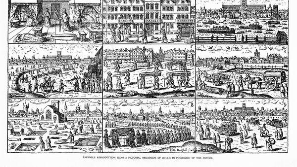 Βουβωνική πανώλη στο Λονδίνο το 1665 - Sputnik Ελλάδα