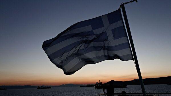 Ελληνική σημαία σε πλοίο - Sputnik Ελλάδα
