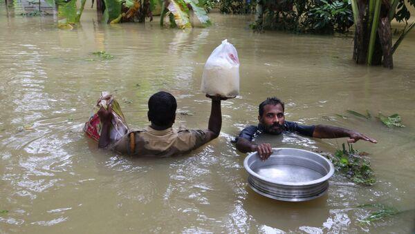 Ινδία: Στους 370 οι νεκροί από τις πλημμύρες - Sputnik Ελλάδα