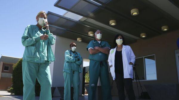 Κορονοϊός: Γιατροί στις ΗΠΑ - Sputnik Ελλάδα