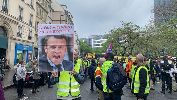 Διαδήλωση από τα Κίτρινα Γιλέκα στο Παρίσι - Sputnik Ελλάδα