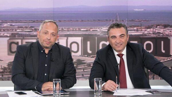 Χρήστος Κούτρας και Γιάννης Ντσούνος - Sputnik Ελλάδα