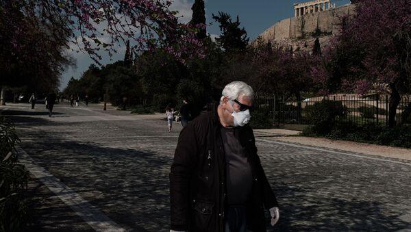 Ελλάδα στην εποχή του κορονοϊού.  - Sputnik Ελλάδα