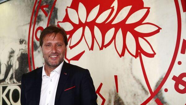 Ο προπονητής του Ολυμπιακού, Πέδρο Μαρτίνς - Sputnik Ελλάδα