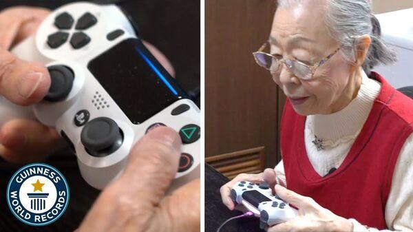 Η γηραιότερη game YouTuber στον κόσμο - Sputnik Ελλάδα