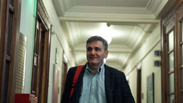 Ο υπουργός Οικονομικών Ευκλέιδης Τσακαλώτος - Sputnik Ελλάδα
