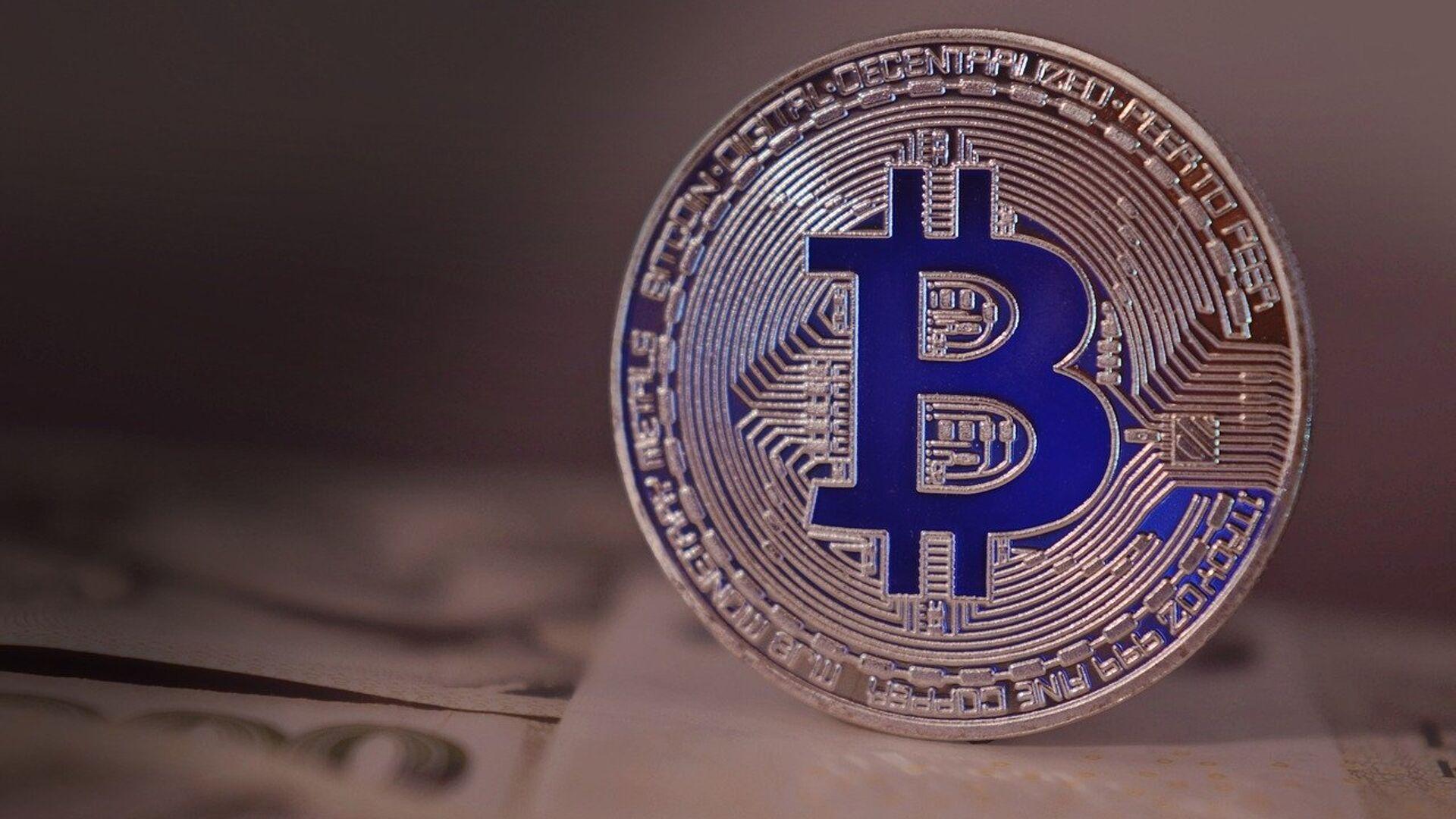 Bitcoin. - Sputnik Ελλάδα, 1920, 07.09.2021