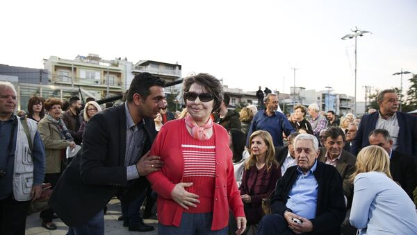 Κωνσταντίνα Κούνεβα - Sputnik Ελλάδα