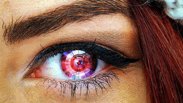 Ένα βιονικό μάτι (καλλιτεχνική αναπαράσταση) - Sputnik Ελλάδα