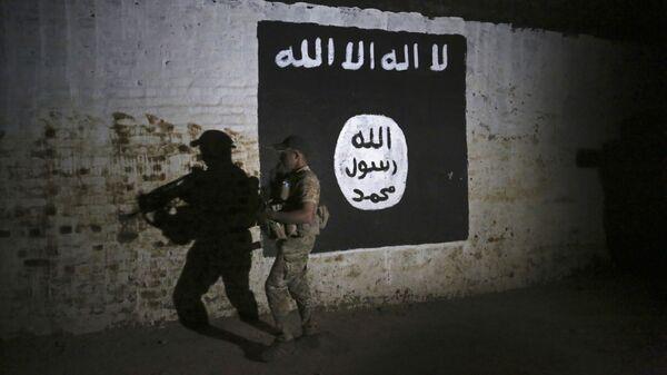 Σημαία του ISIS στο Ιράκ - Sputnik Ελλάδα