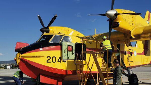 Καναντέρ, 383 Μοίρα Ειδικών Επιχειρήσεων και Αεροπυρόσβεσης, Θεσσαλονίκη - Sputnik Ελλάδα