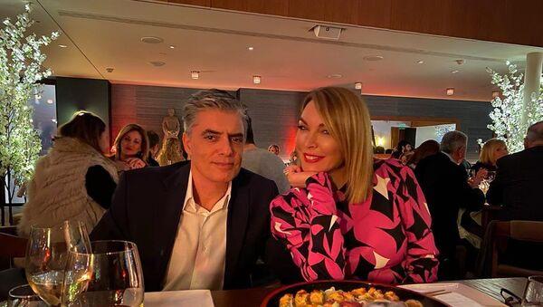 Τατιάνα Στεφανίδου και Νίκος Ευαγγελάτος - Sputnik Ελλάδα