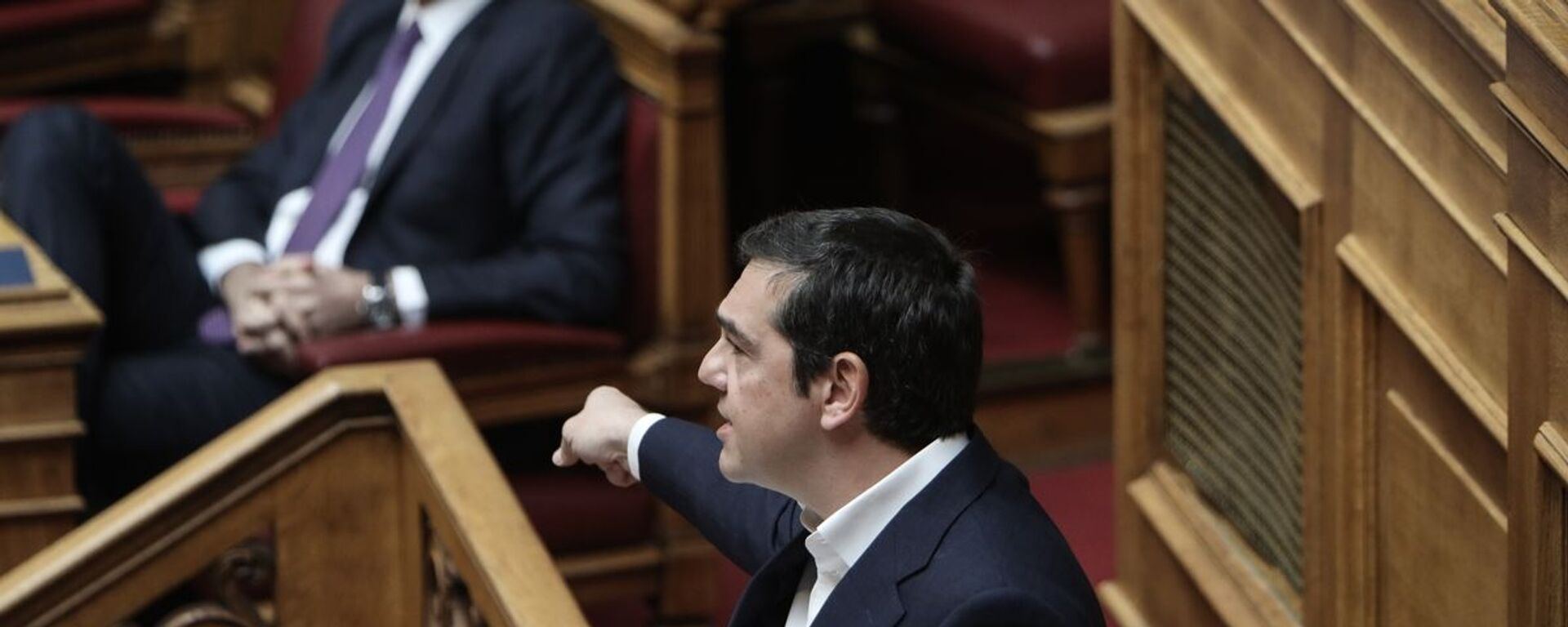 Ο Κυριάκος Μητσοτάκης και ο Αλέξης Τσίπρας - Sputnik Ελλάδα, 1920, 01.10.2021