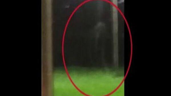 Άντρας βιντεοσκόπησε παράξενη φιγούρα να κινείται μέσα στη νύχτα - Sputnik Ελλάδα