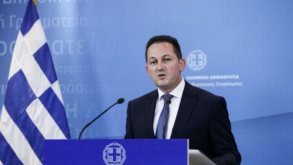 Ο κυβερνητικός εκπρόσωπος, Στέλιος Πέτσας - Sputnik Ελλάδα