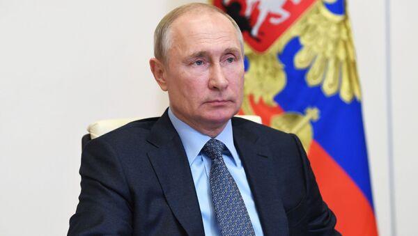Ο πρόεδρος της Ρωσίας, Βλαντίμιρ Πούτιν - Sputnik Ελλάδα