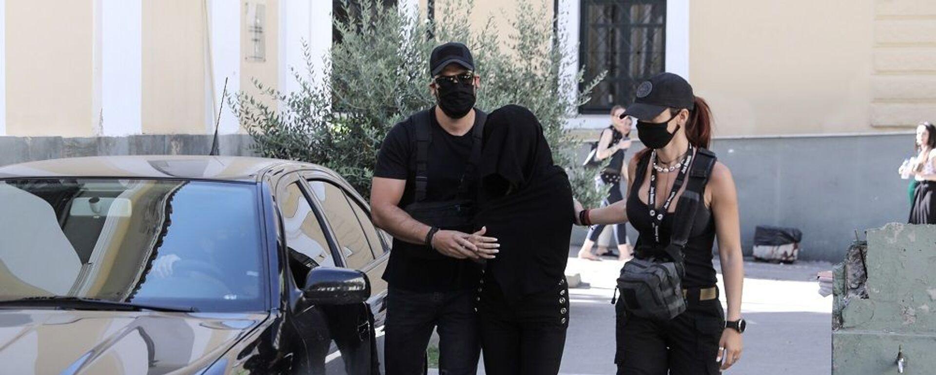 Στην Ευελπίδων η 35χρονη κατηγορούμενη για την επίθεση με βιτριόλι - Sputnik Ελλάδα, 1920, 17.09.2021