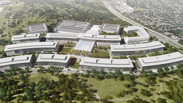 Εγκαταστάσεις της Apple στο Όστιν του Τέξας - Sputnik Ελλάδα