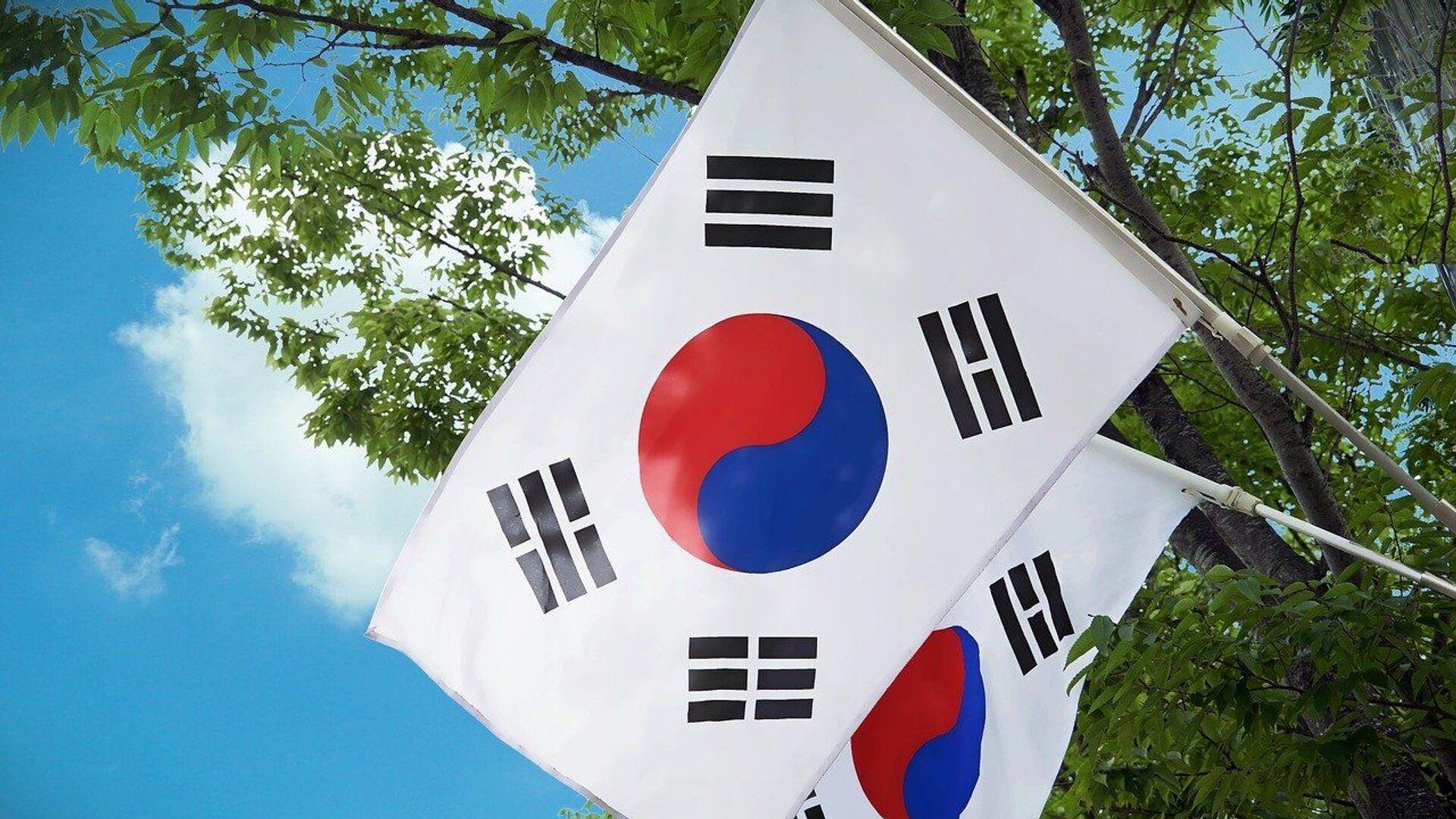 Σημαίες της Νότιας Κορέας - Sputnik Ελλάδα, 1920, 27.07.2021