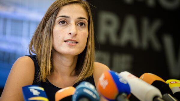 Η δημοσιογράφος Μεσαλέ Τολού - Sputnik Ελλάδα