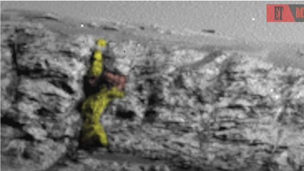 «Εξωγήινη» μορφή στον πλανήτη Άρη - Sputnik Ελλάδα