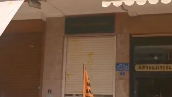 ΠΟΕ - ΟΤΑ: Αυγά στο υπ. Εσωτερικών - Sputnik Ελλάδα