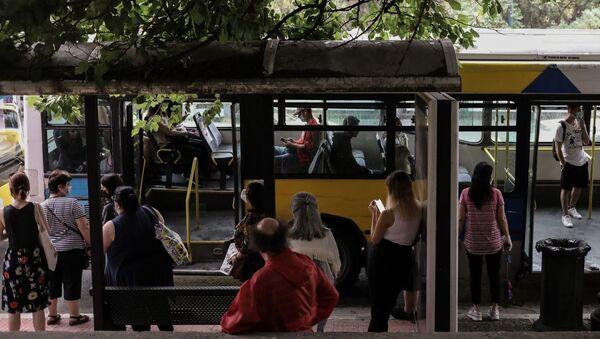 Λεωφορείο στην Αθήνα - Sputnik Ελλάδα