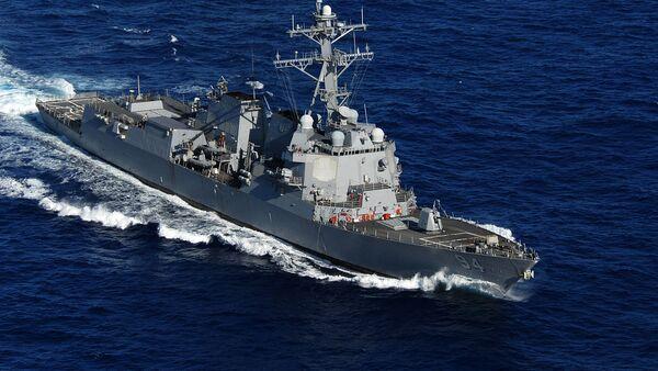 Το αμερικανικό αντιτορπιλικό USS Nitze  - Sputnik Ελλάδα