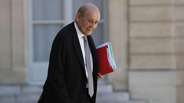 Ο υπουργός Εξωτερικών της Γαλλίας, Ζαν-Ιβ Λε Ντριάν - Sputnik Ελλάδα