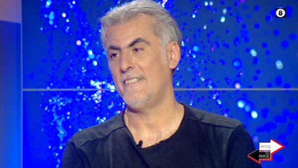 Ο Φίλιππος Πλιάτσικας στην εκπομπή «Αυτός και ο άλλος» της ΕΡΤ, 2 Ιουλίου 2020 - Sputnik Ελλάδα