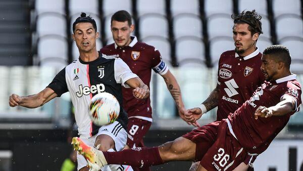 Ο Κριστιάνο Ρονάλντο στο ντέρμπι Γιουβέντους - Τορίνο 4-1 - Sputnik Ελλάδα