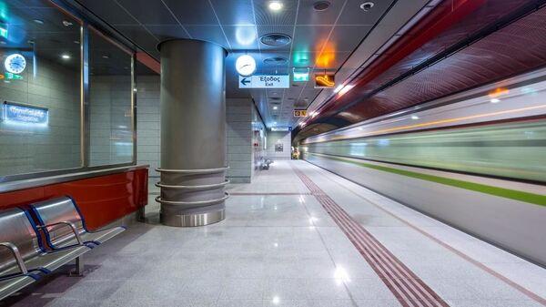 Ο σταθμός «Κορυδαλλός» του μετρό - Sputnik Ελλάδα
