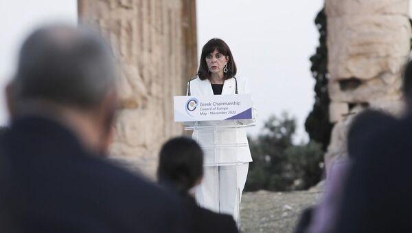 Η Πρόεδρος της Δημοκρατίας Κατερίνα Σακελλαροπούλου - Sputnik Ελλάδα