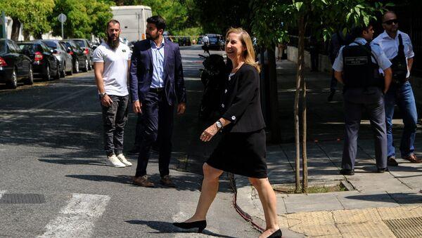 Η Μαριλίζα Ξενογιαννακοπούλου υπουργός Διοικητικής Ανασυγκρότησης - Sputnik Ελλάδα